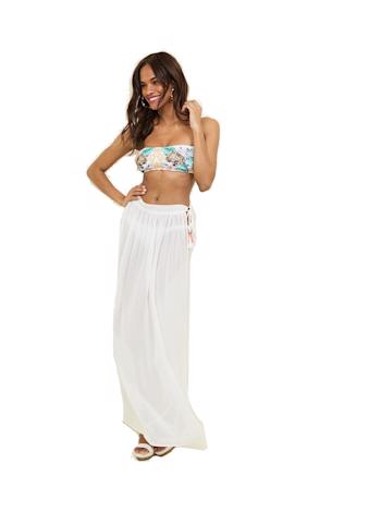 NEW LOOK Biely sarong so strapcami foto